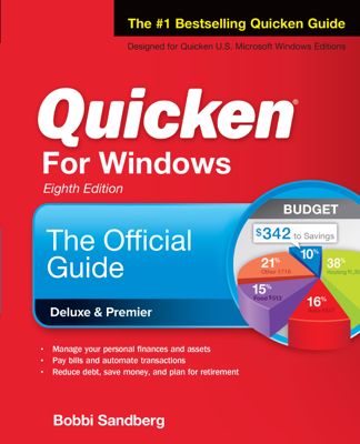 Quicken for Windows: The Official Guide, Eighth Edition - Bobbi Sandberg book