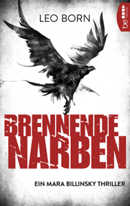 Brennende Narben Buch-Cover