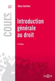 Introduction G N Rale Au Droit