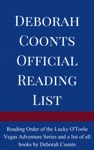 Deborah Coonts Official Reading List
