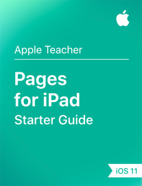 Pages for iPad Starter Guide iOS 11 book