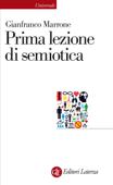 Prima lezione di semiotica Book Cover
