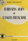 Crivains Juifs De Langue Franaise