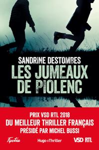 Les jumeaux de Piolenc - Prix VSD RTL du meilleur thriller français présidé par Michel Bussi La couverture du livre martien