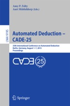Automated Deduction - CADE-25