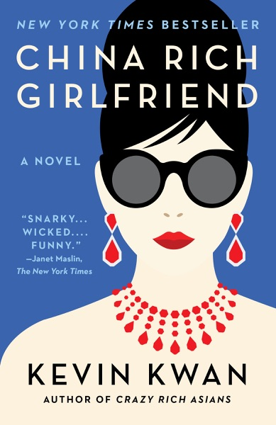 China Rich Girlfriend - Kevin Kwan book cover