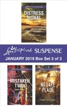 Harlequin Love Inspired Suspense January 2019 - Box Set 2 Of 2