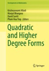 Quadratic And Higher Degree Forms