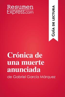 Crónica de una muerte anunciada de Gabriel García Márquez (Guía de lectura)
