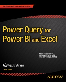 Power Query for Power BI and Excel - Christopher Webb & Crossjoin Consulting Limited