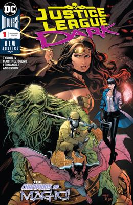 Justice League Dark (2018-) #1 - James Tynion IV & Álvaro Martínez book