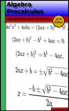 Algebra Precalculus: Questions And Answers