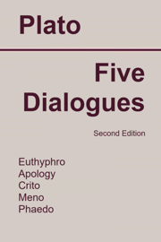 Five Dialogues: Euthyphro, Apology, Crito, Meno, Phaedo book