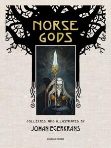 Norse Gods di Johan Egerkrans Copertina del libro