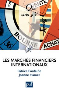Les marchés financiers internationaux La couverture du livre martien
