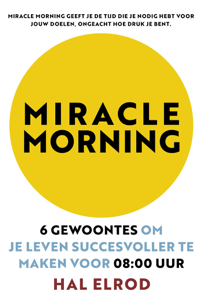 Miracle Morning Boekomslag