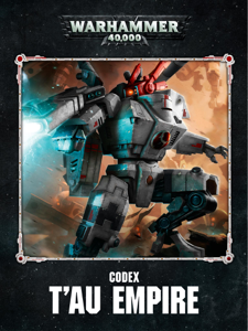 Codex: T'au Empire Enhanced Edition Cover Book