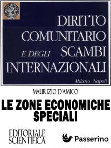 Le Zone Economiche Speciali Copertina del libro