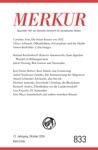 MERKUR Gegrndet 1947 Als Deutsche Zeitschrift Fr Europisches Denken - 2018-10