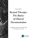 Beyond Therapy Basics Of Clinical Documentation