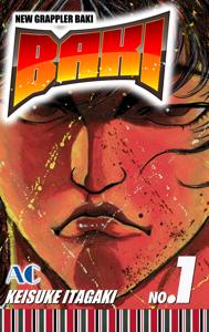BAKI Volume 1 Copertina del libro