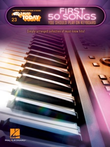 First 50 Songs You Should Play on Keyboard Book Cover