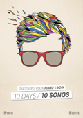 10 Days / 10 Songs - Partitions pour piano & voix
