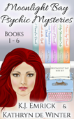 Moonlight Bay Psychic Mysteries Books 1-6
