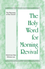 The Holy Word for Morning Revival - The Recovery of the Church PDF Download