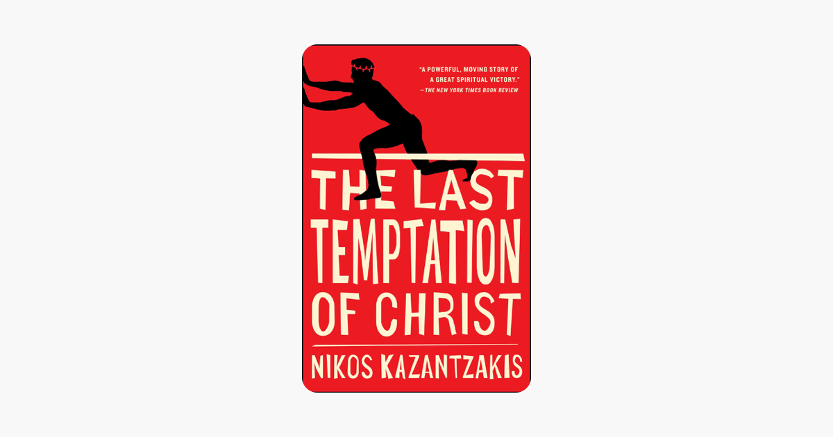 Last Temptation Of Christ Book
