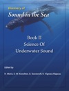 Discovery Of Sound In The Sea Book II Science Of Underwater Sound