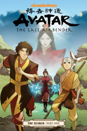 Avatar: The Last Airbender - The Search Part 1 book