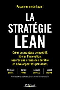 La stratégie Lean La couverture du livre martien
