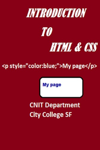 Introduction to HTML  CSS
