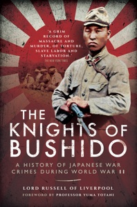 The Knights of Bushido von Lord Russell of Liverpool Buch-Cover