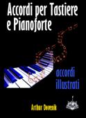 Dizionario degli Accordi per Tastiere e Pianoforte Book Cover