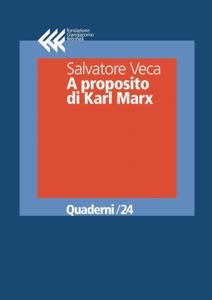 A proposito di Karl Marx Book Cover