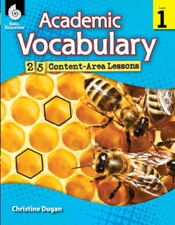 Download and Read Online Academic Vocabulary: 25 Content-Area Lessons Level 1