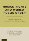 Human Rights And World Public Order