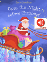 Clement Clarke Moore - Twas the night before Christmas (AUDIO and Magical ILLUSTRATIONS) artwork