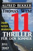 11 Thriller für den Sommer Juli 2017