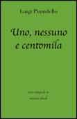 Uno, nessuno e centomila di Luigi Pirandello in ebook