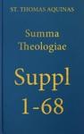 Summa Theologiae Supplementum 1-68