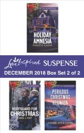 Harlequin Love Inspired Suspense December 2018 - Box Set 2 of 2 PDF Download