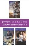 Harlequin Intrigue January 2018 - Box Set 1 Of 2