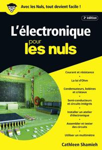 L'électronique pour les Nuls poche, 2e édition La couverture du livre martien