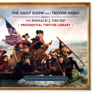 The Daily Show Presidential Twitter Library Copertina del libro