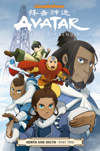 Avatar: The Last Airbender--North and South Part Two Book Cover