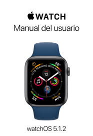 Manual del usuario del Apple Watch book