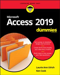 Access 2019 For Dummies La couverture du livre martien
